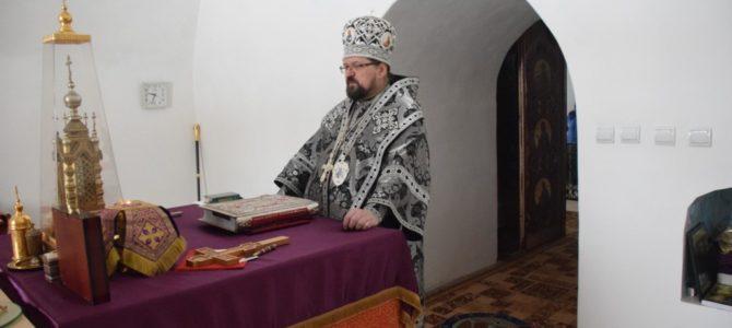 Литургия Преждеосвященных Даров в Богоявленском кафедральном соборе г.Галича