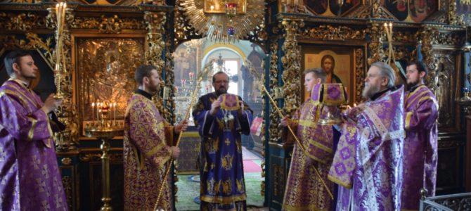 Суббота 2-ой седмицы Великого поста, поминовение усопших. Божественная литургия в Успенском храме г.Чухлома