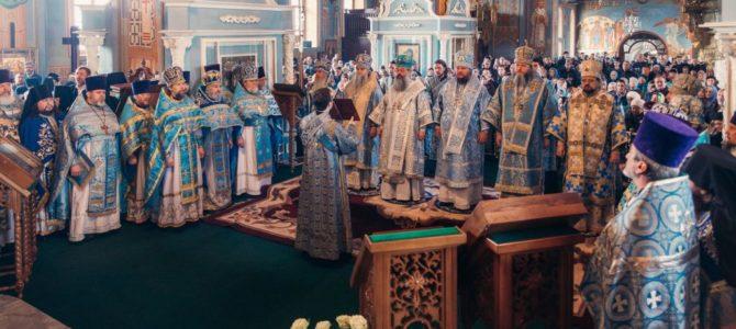 Праздник Феодоровской иконы Божией Матери в Богоявленско-Анастасиином монастыре г.Кострома