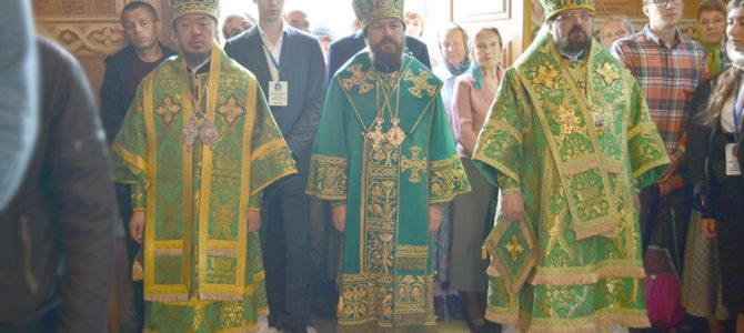Торжества в Свято-Троицкой Сергиевой Лавре