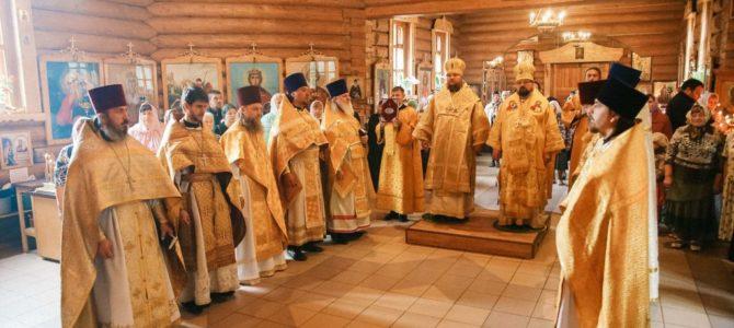 Соборное архиерейское богослужение в храме святителя Николая города Шарья