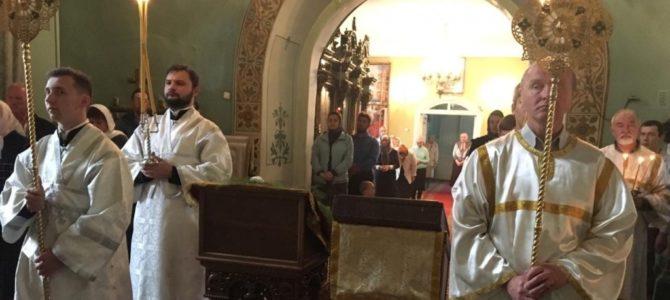 Всенощное бдение в канун Недели 10-ой по Пятидесятнице в Введенском соборе города Галича