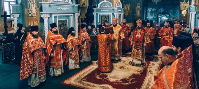 Престольный праздник Богоявленско-Анастасиина монастыря г. Костромы