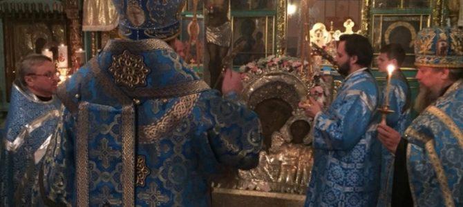Всенощное бдение в канун праздника иконы Божией Матери «Казанская»