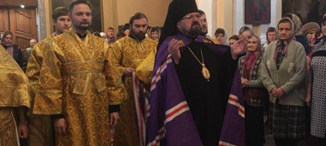 Неделя 21-ая по Пятидесятнице. Божественная литургия в Преображенском соборе города Солигалич