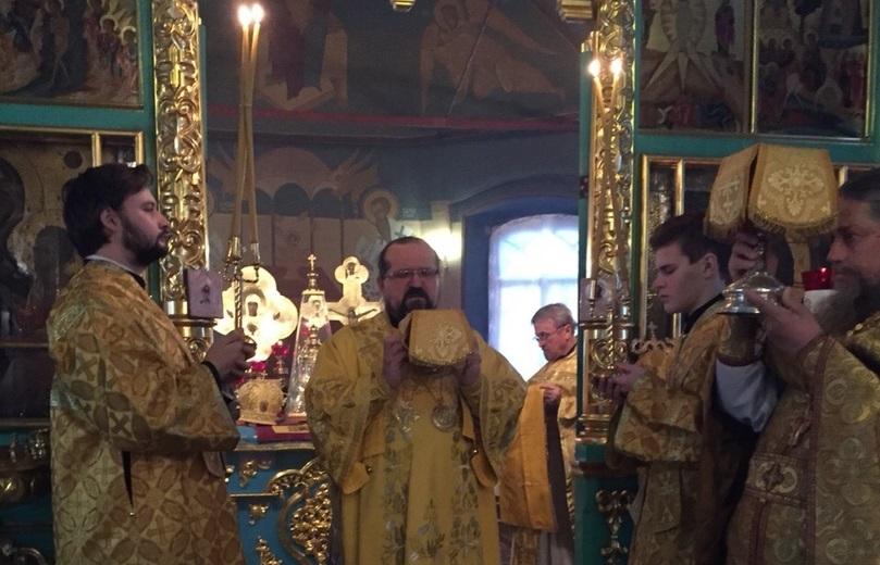 Память преподобного Нестора Летописца в Введенском соборе г.Галича