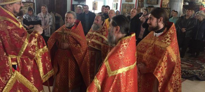 Престольный праздник в храме великомученика Димитрия Солунского в селе Введенское