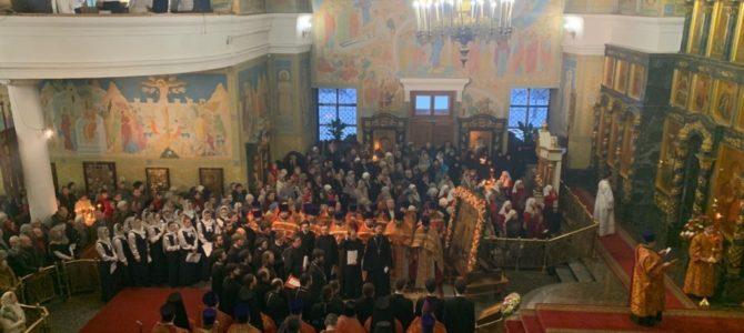 Торжества в Троицком кафедральном соборе г. Екатеринбург