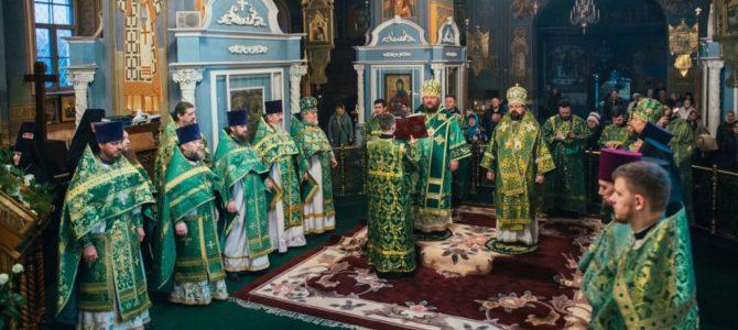 Епископ Галичский и Макарьевский Алексий принял участия в торжествах в день тезоименитства митрополита Костромского и Нерехтского Ферапонта