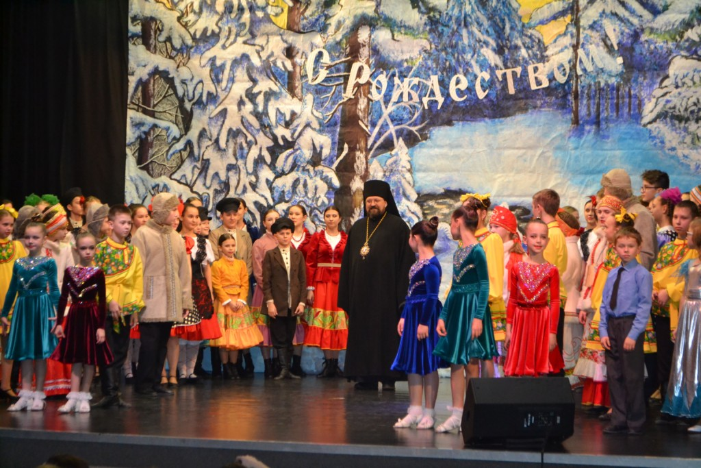 Архиерейский Рождественский концерт в цкд «Ритм» г.Галича