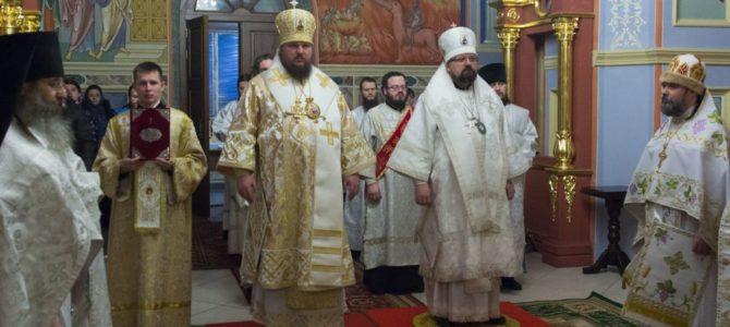 Соборное архиерейское богослужение в Свято-Троицком Ипатьевском монастыре г.Кострома