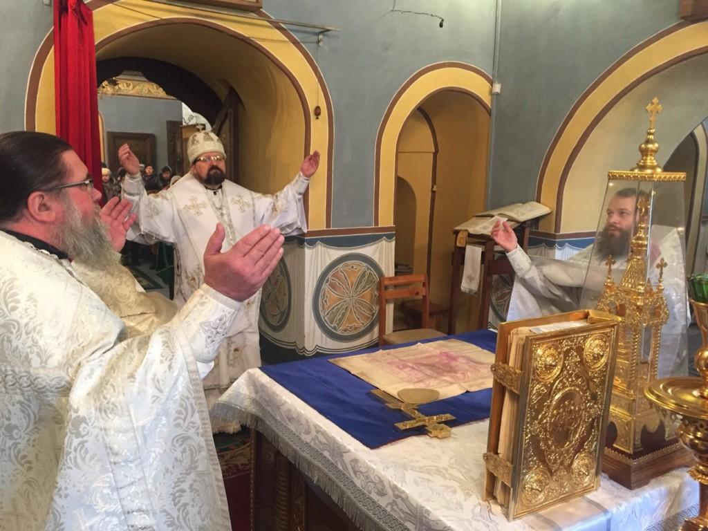 Отдание праздника Рождества Христова в Успенском Паисиево-Галичском женском монастыре
