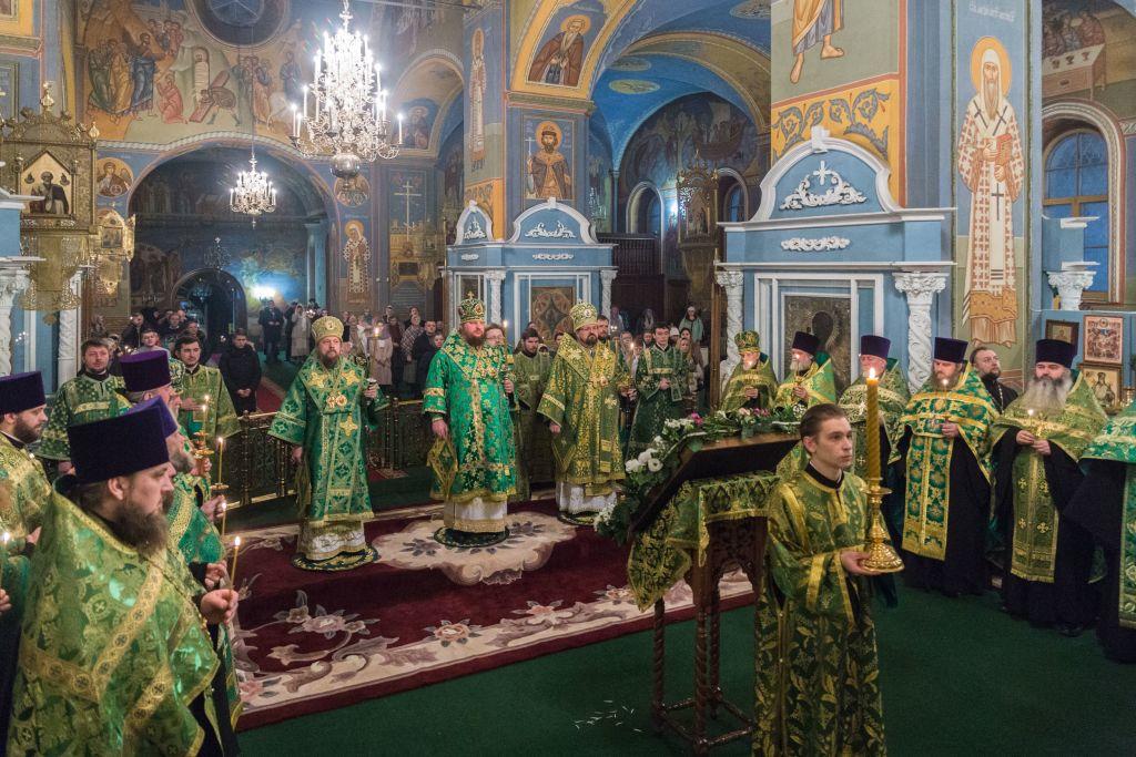 Всенощное бдение в канун памяти собора Святых Костромской земли