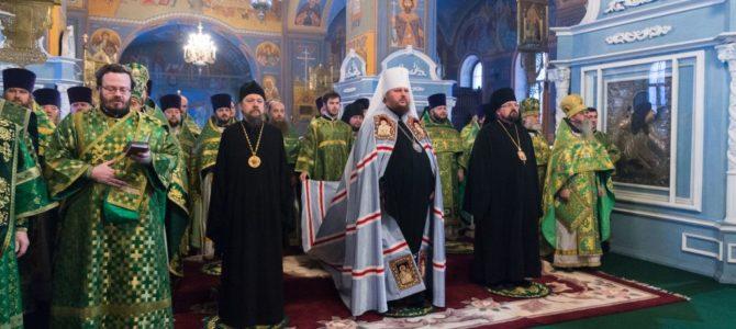 Праздник собора Святых Костромской земли в Богоявленском кафедральном соборе г.Кострома