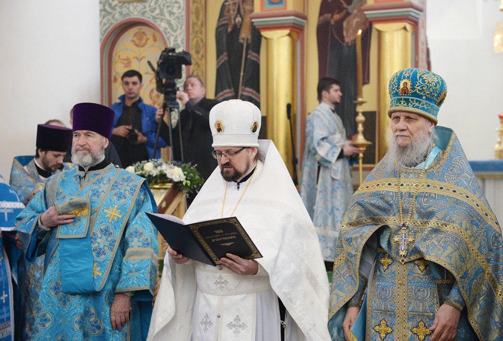 В преддверии третьей годовщины архиерейской хиротонии, от собратьев архипастырей начинают поступать поздравления