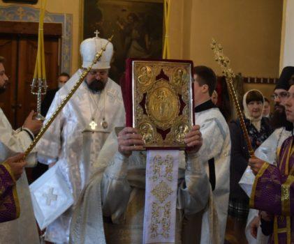 Отдание праздника Преображения Господня в Преображенском соборе г.Солигалича