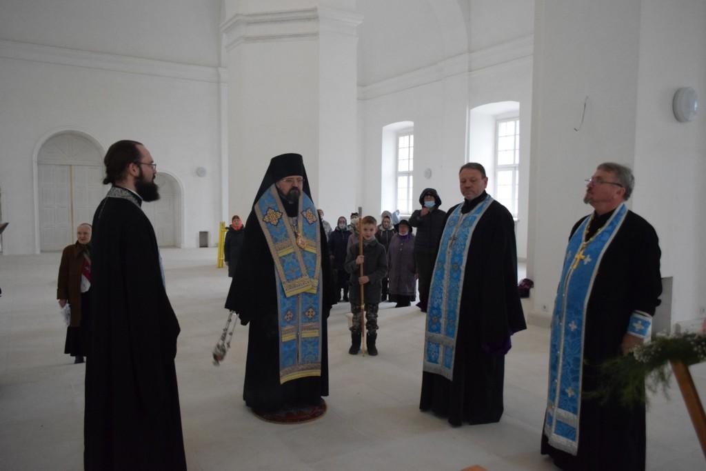Молебеное пение в Троцком кафедральном соборе г.Галича