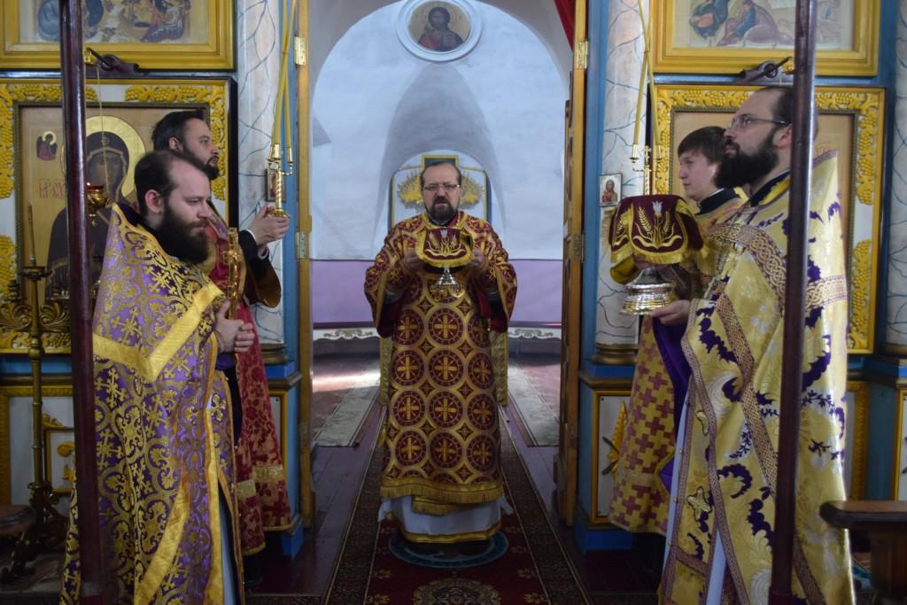 Архиерейское богослужение в храме Косьмы и Дамиана г.Галича