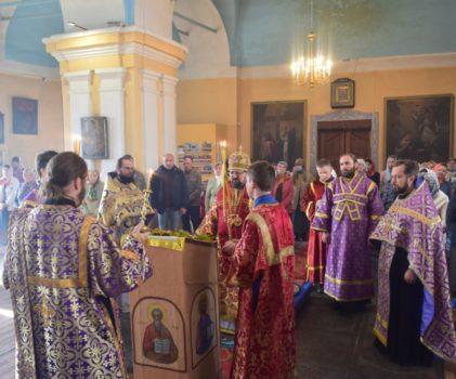 Неделя 17-я по Пятидесятнице. Божественная литургия в Преображенском соборе г.Солигалич