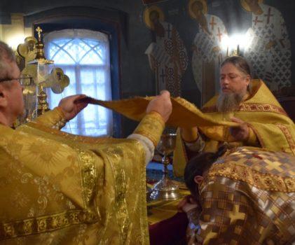 Неделя 21-я по Пятидесятнице. Божественная литургия в Введенском соборе г.Галича