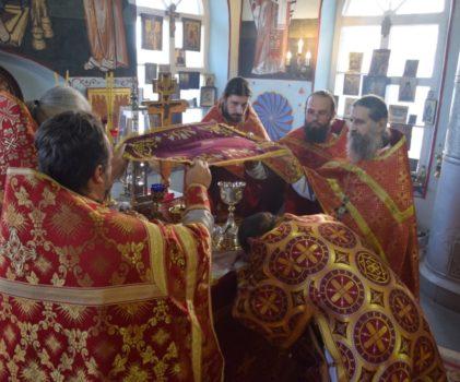 Престольные торжества храма великомученика Димитрия Солунского села Введенское