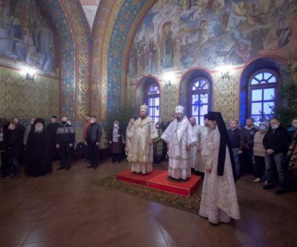 Собор Пресвятой Богородицы. Соборное архиерейское богослужение в стенах Ипатьевского монастыря г.Кострома