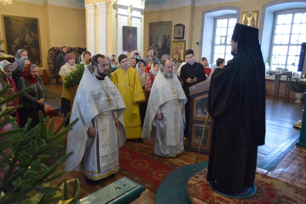 Рождественское посещение Преображенского собора г.Солигалича