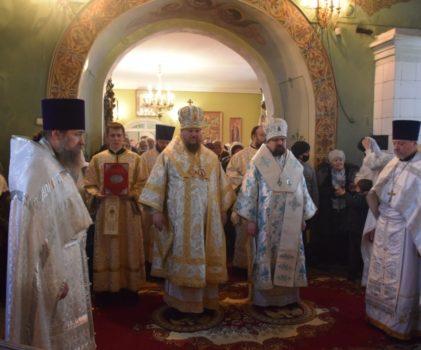 Праздник Сретения Господня. Четвертая годовщина архиерейской хиротонии епископа Галичского и Макарьевского Алексия