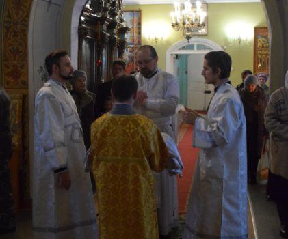 Неделя о мытаре и фарисее. Архиерейское богослужение в Введенском соборе г.Галича
