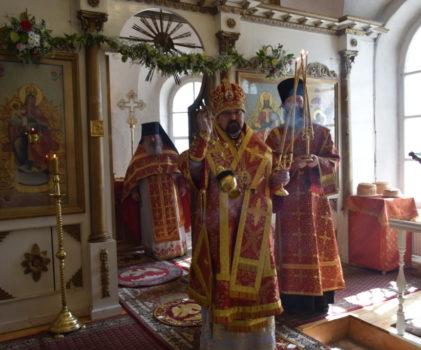 Светлая суббота. Пасхальная Божественная литургия в Свято-Троицком Макариево-Унженском мужском монастыре г.Макарьев