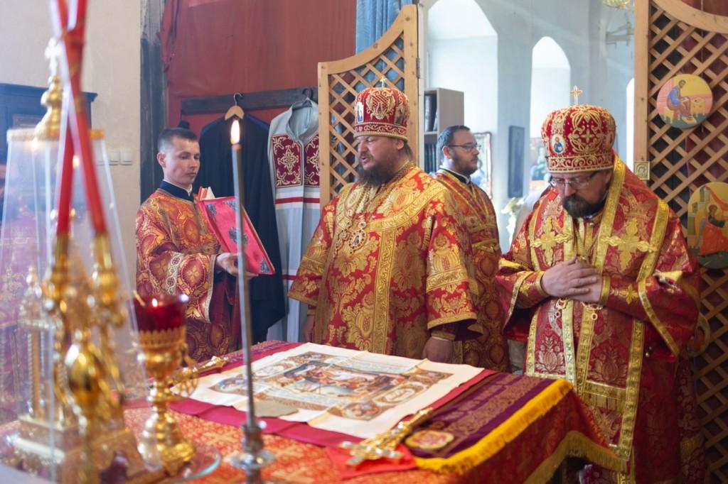 День памяти преподобного Ферапонта Монзенского на подвории Свято-Предтеченского Иаково-Железноборовского мужского монастыря
