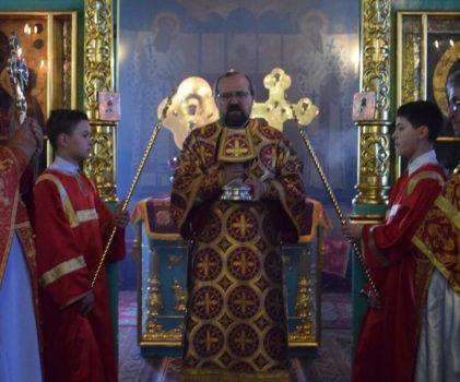 Архиерейское богослужение в Неделю 6-ю по Пасхе, о Слепом, в Введенском собор г.Галича