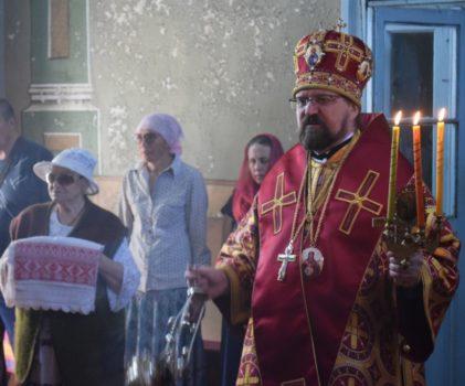 Божественная литургия Пасхальным чином в храме Казанской иконы Божией Матери села Богородское