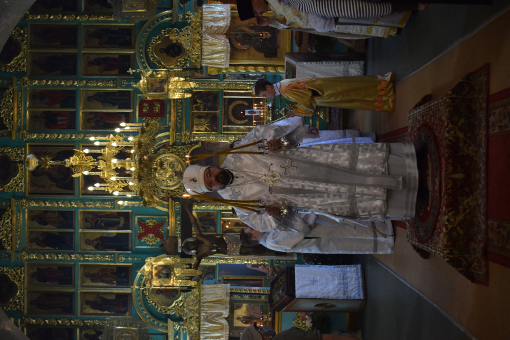 Вознесение Господне. Праздничное богослужение в Введенском соборе г.Галича