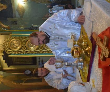 Неделя 7-я по Пасхе. Воскресное богослужение в Введенском соборе г.Галича