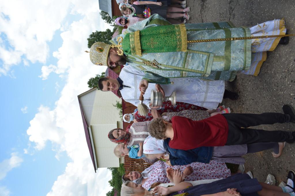 Престольный праздник храма праведного Иоанна Кронштадтского поселка Островское
