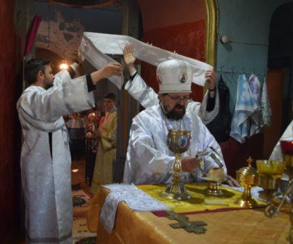 Архипастырский визит в храм святителя Николая села Верхний Березовец Солигаличского района