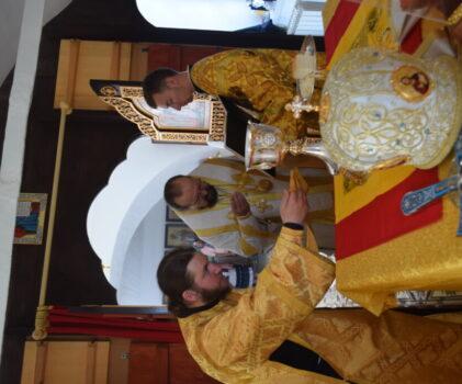 Праздник собора 12-ти апостолов на архиерейском подвории села Умиление