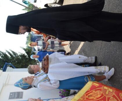 Престольный праздник в храме Косьмы и Дамиана города Галича