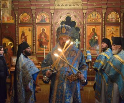 Престольный праздник Свято-Покровского Авраамиево-Городецкого мужского монастыря